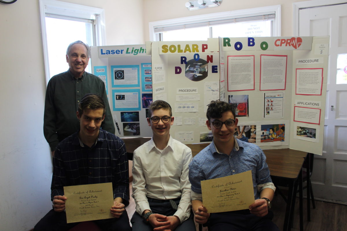 FTI Students Attend Intel Science Competition Multiple Students Submit Projects…Two Receive Awards