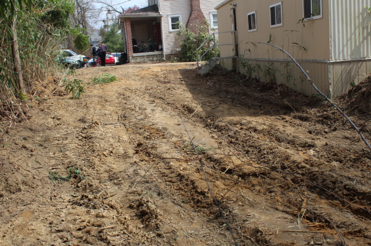 Permits Are In, Construction Begins… Site Clearing to Make Room for Phase 1 Modular Addition to Bais Medrash Building