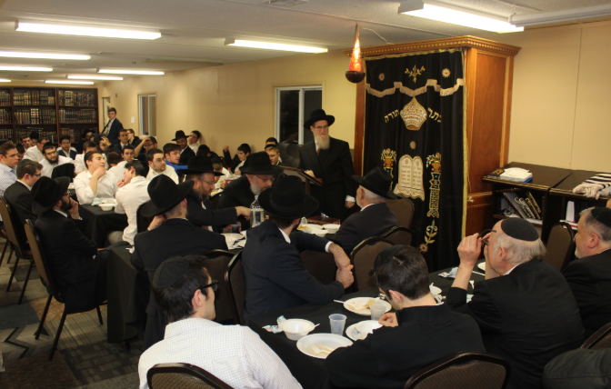 Rabbi Akiva Grunblatt Shlitah Makes Historic Visit to FTI A Very Special Shabbos with the Rosh HaYeshiva
